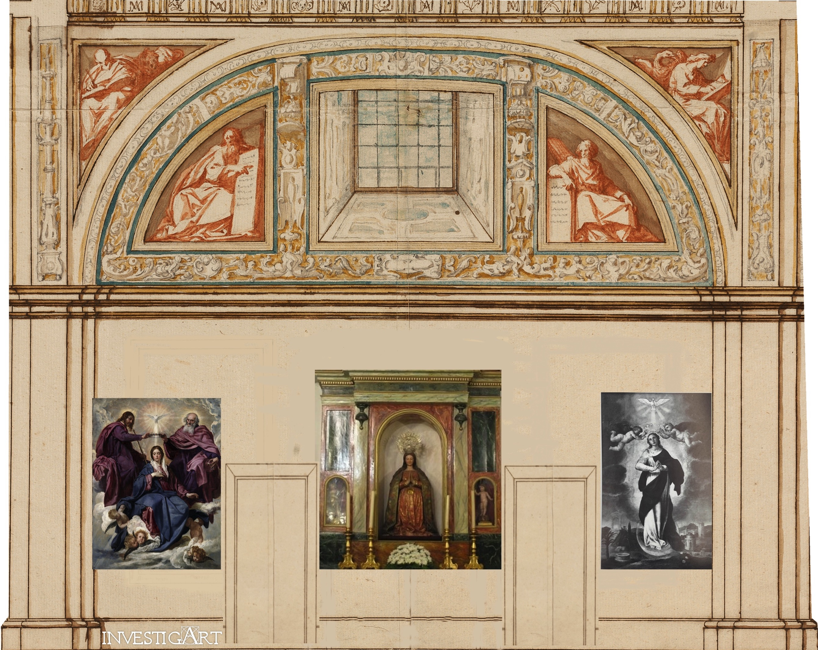 El Oratorio de la reina en el Alcázar de Madrid. Una propuesta de reconstrucción