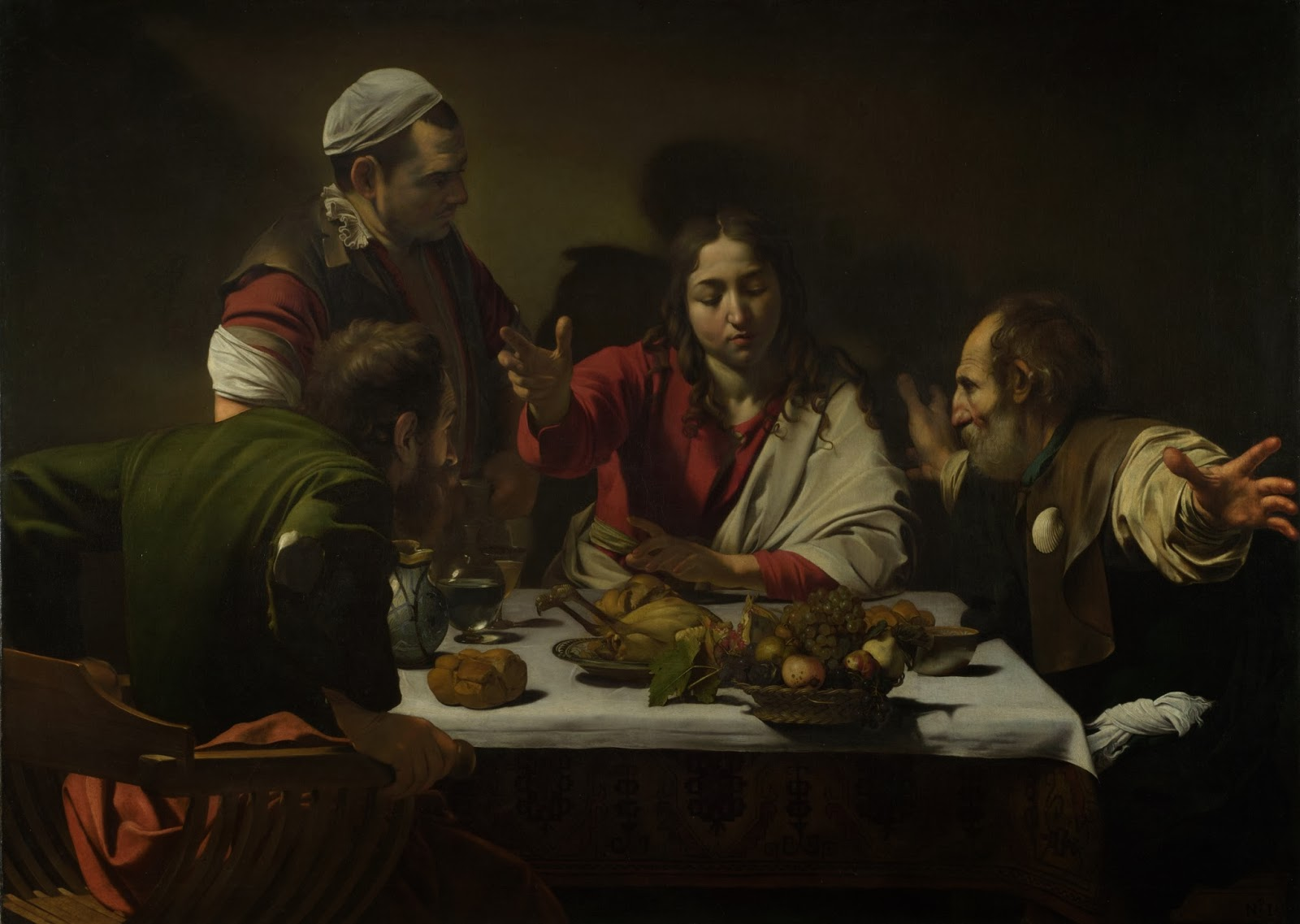 Detrás del naturalismo de Caravaggio: La Cena en Emaús