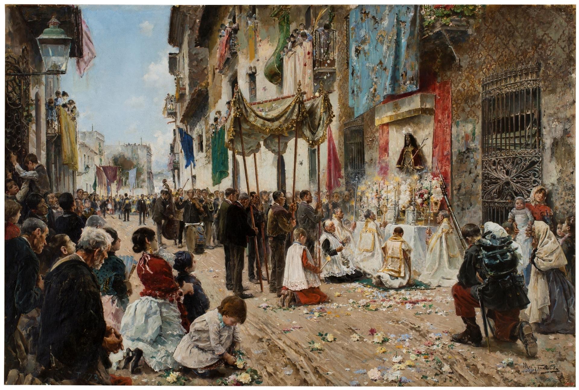 El Corpus Christi, explosión de la fiesta eucarística en el barroco