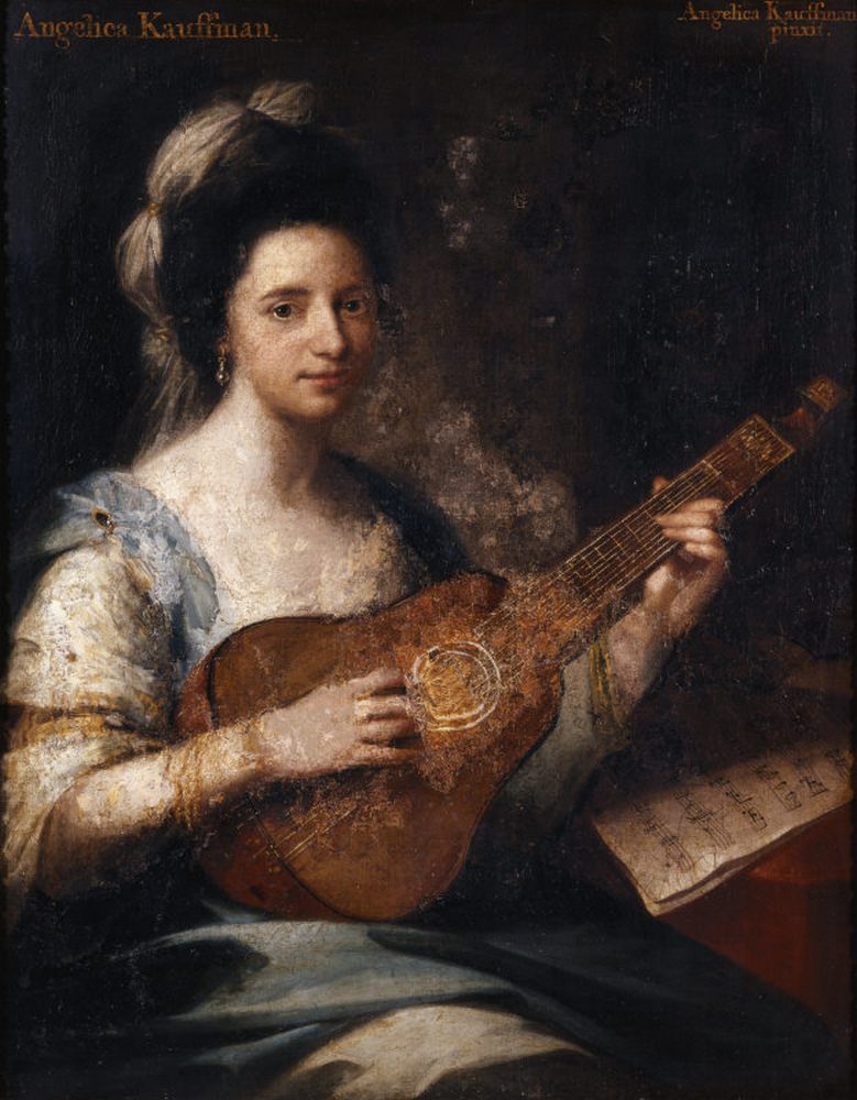 Un prodigio llamado Angelica Kauffmann