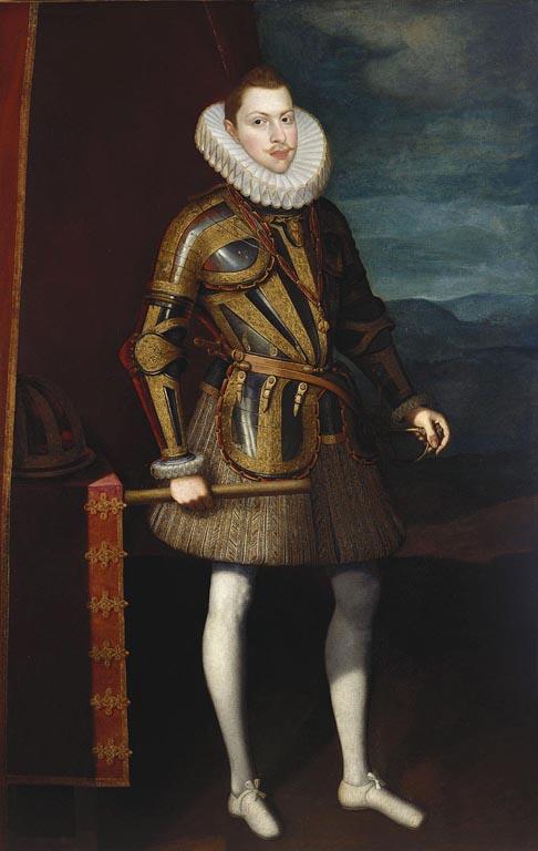 Consideraciones sobre la indumentaria española: el caso de Felipe III
