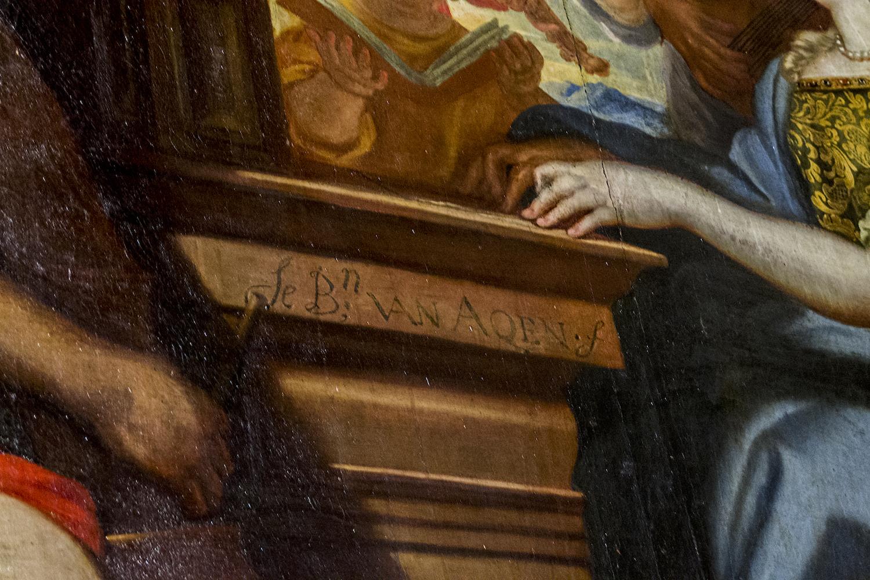El misterio de las Trinitarias y su Santa Cecilia firmada
