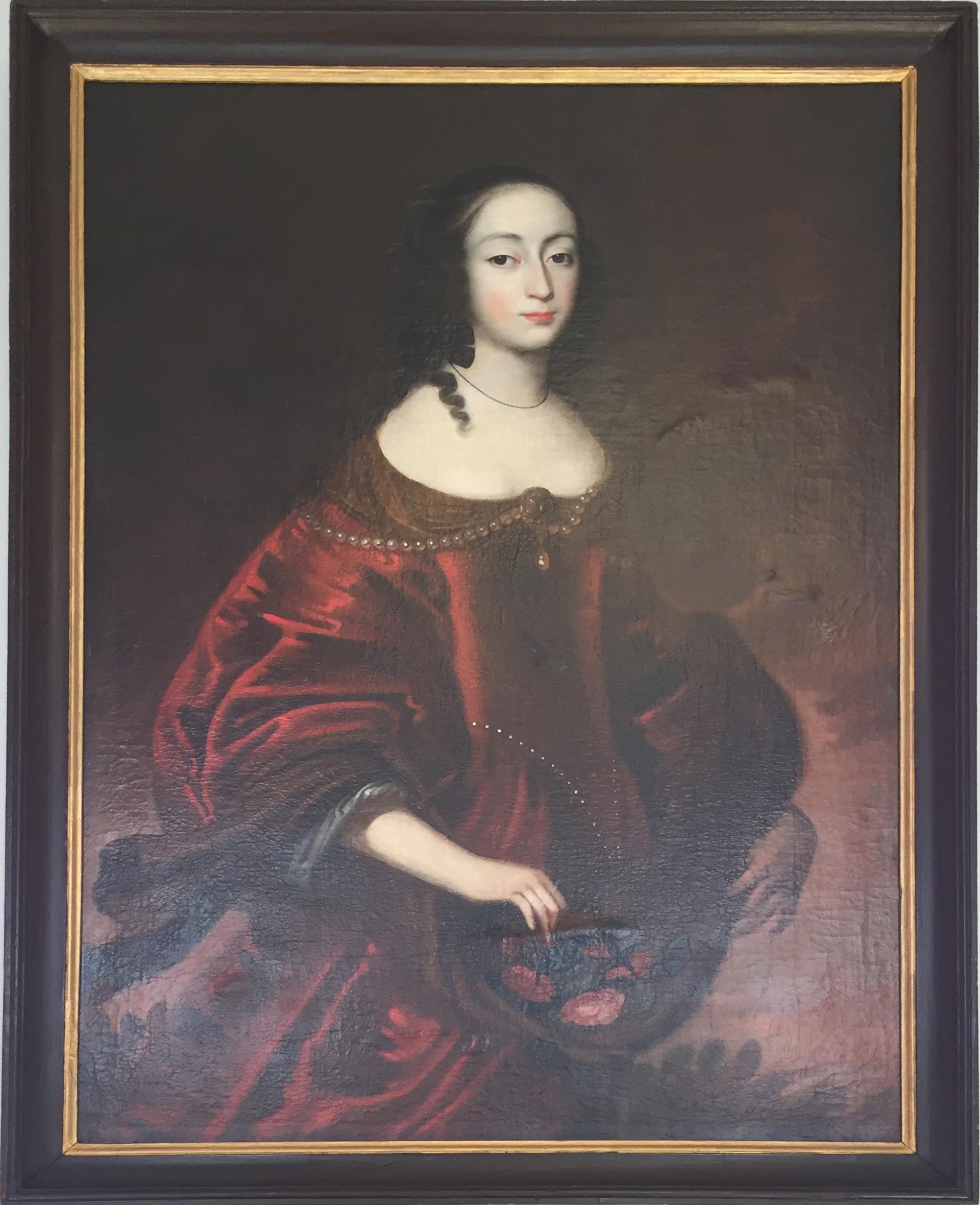 La discípula de Van Dyck, Ernestine Charlotte von Nassau-Siegen