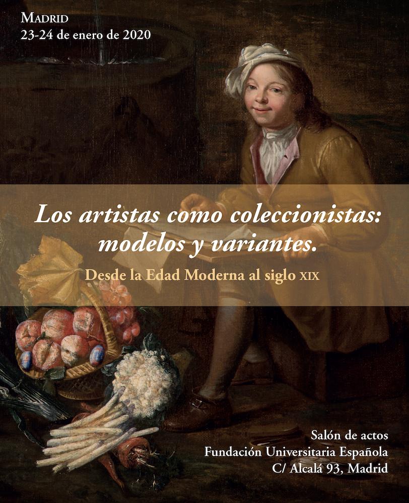 """Congreso """"Los artistas como coleccionistas: modelos y variantes"""""""