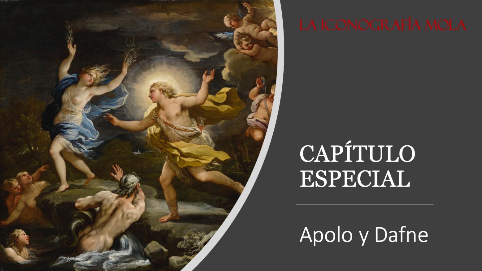 """La Iconografía Mola- Cap. Especial: """"Apolo y Dafne"""""""