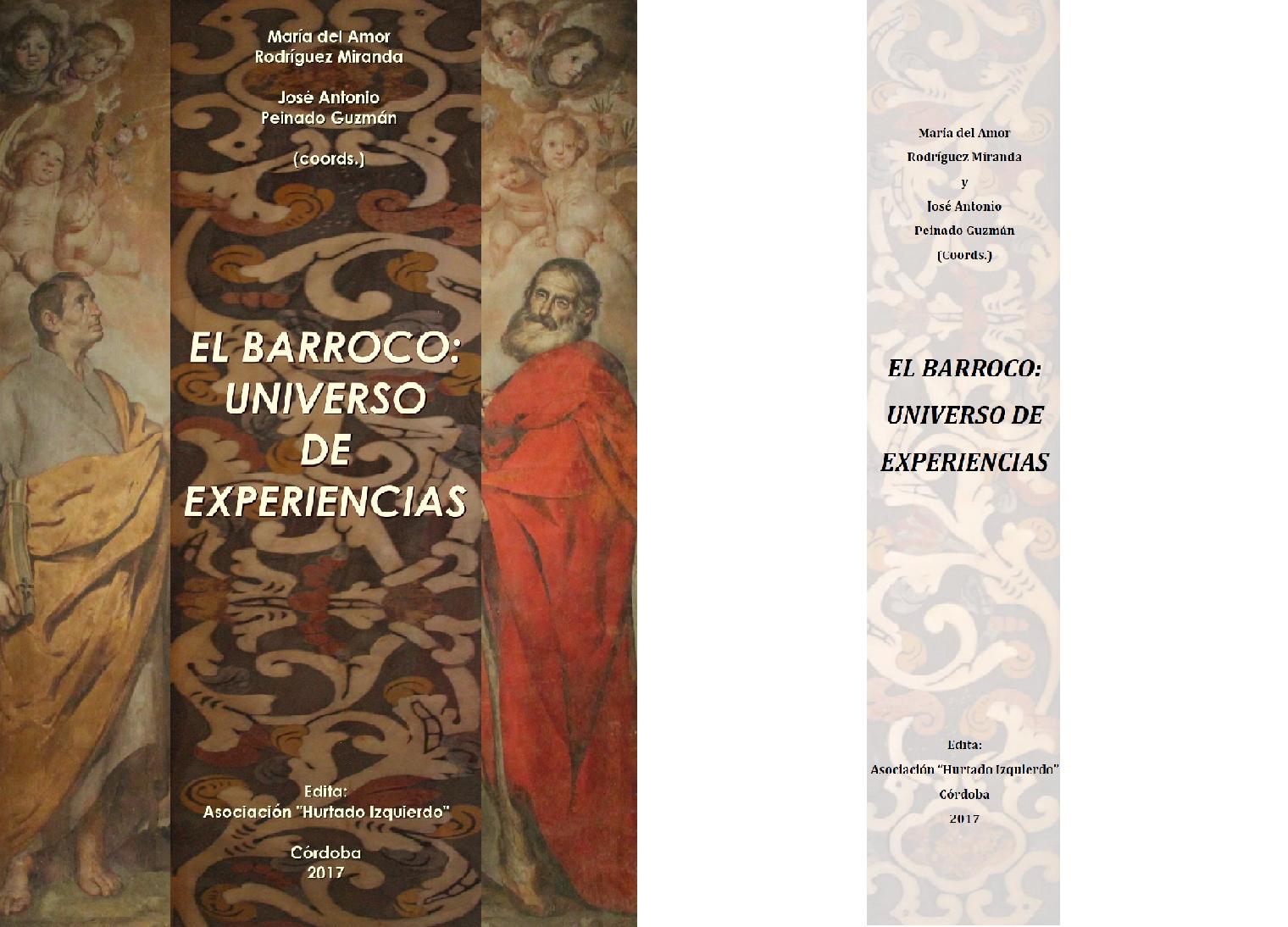 """Cuéntame un libro – Cipriano García Hidalgo """"El Barroco: Universo de Experiencias"""""""
