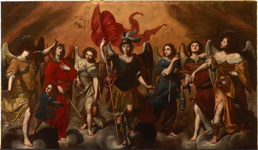Los Siete Arcángeles. Una iconografía al servicio del poder.