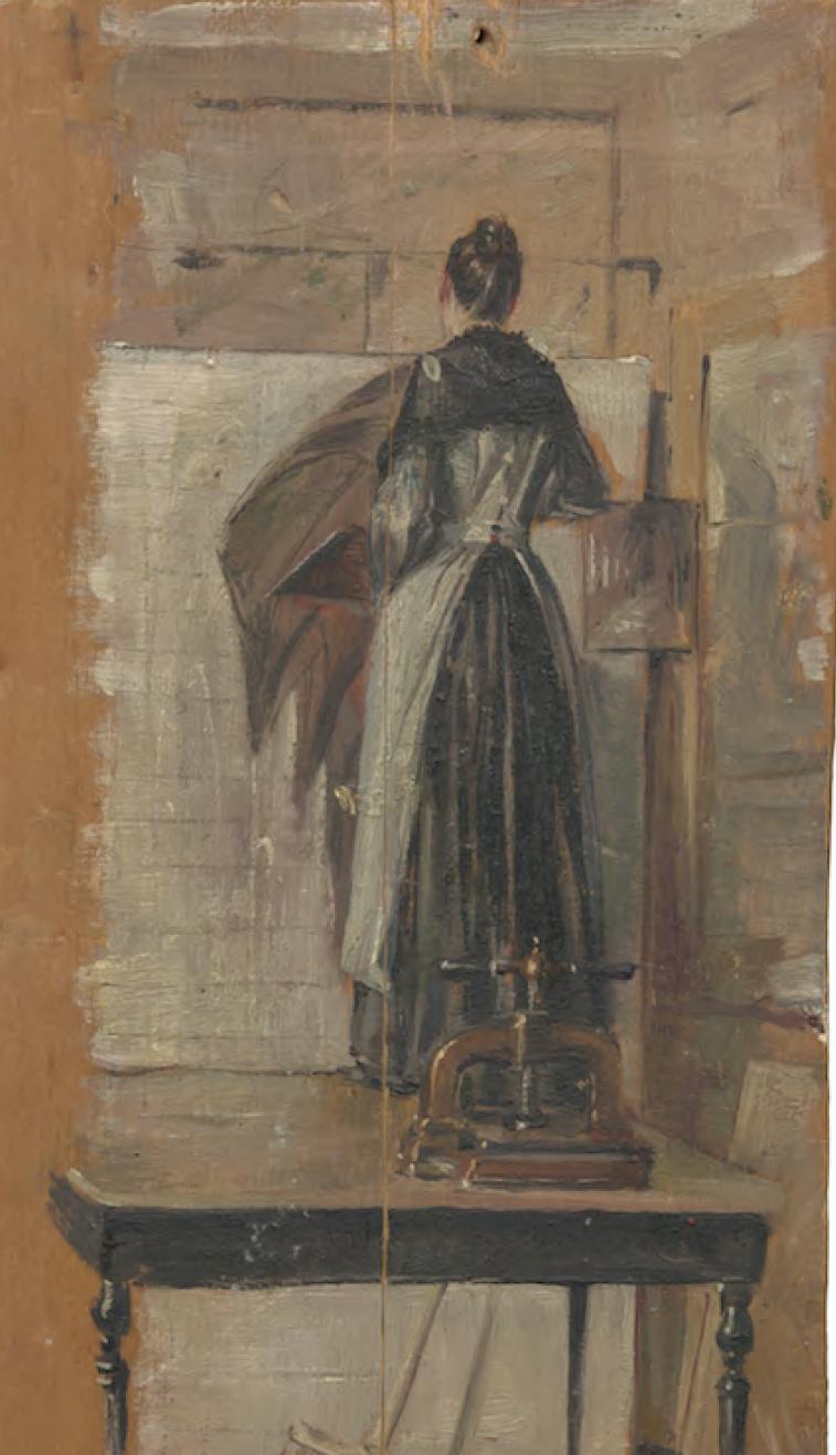 Elena Brockmann, la mujer que pintaba como los hombres