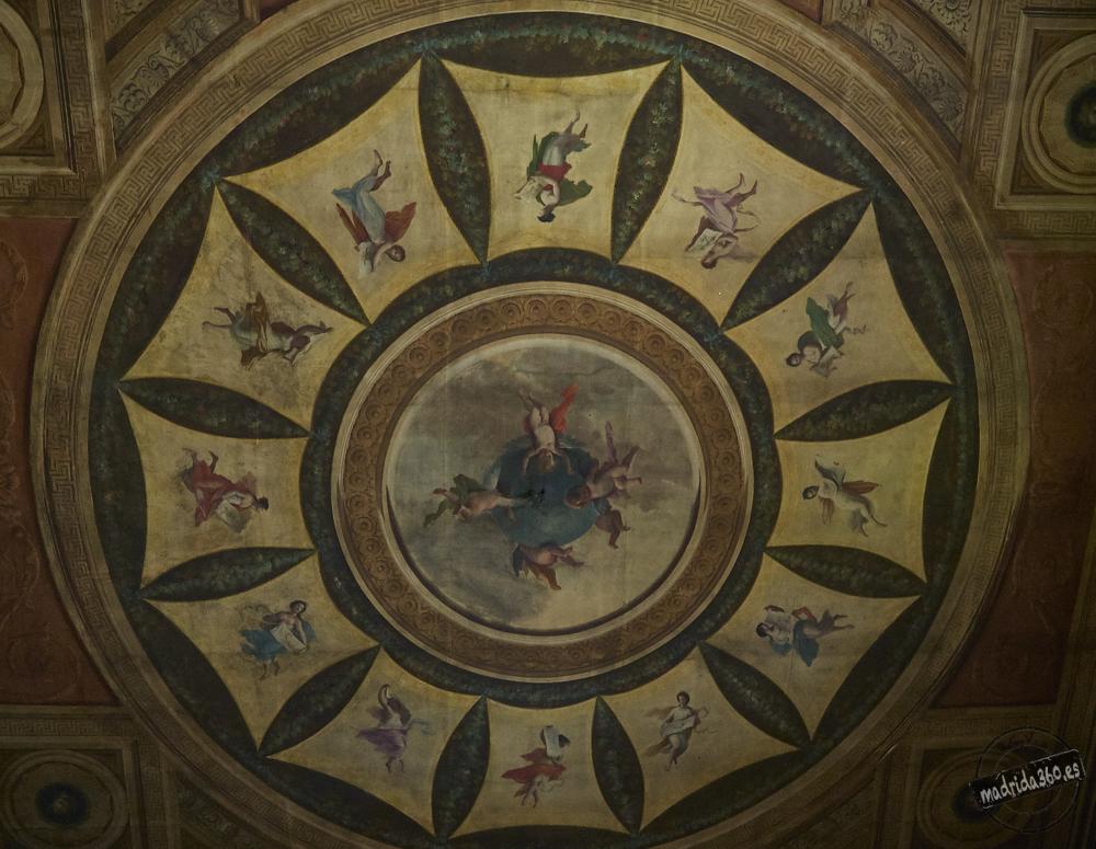 Las pinturas murales del Palacio de Godoy