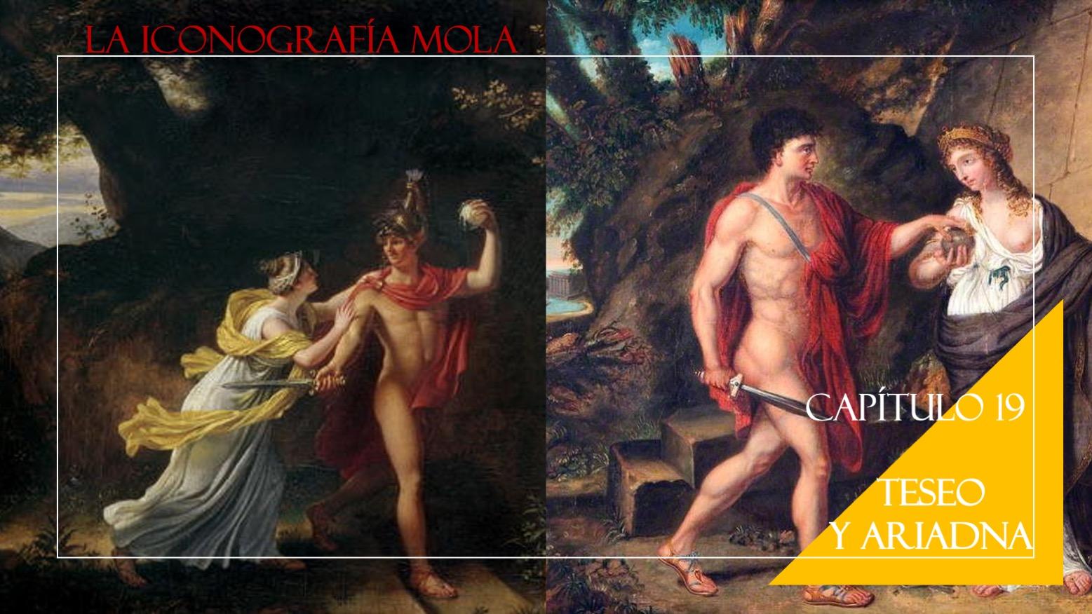 La Iconografía Mola- Cap. 19: Teseo y Ariadna