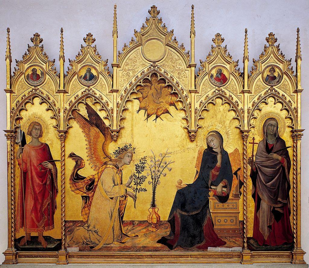 La Anunciación en el Gótico (III)
