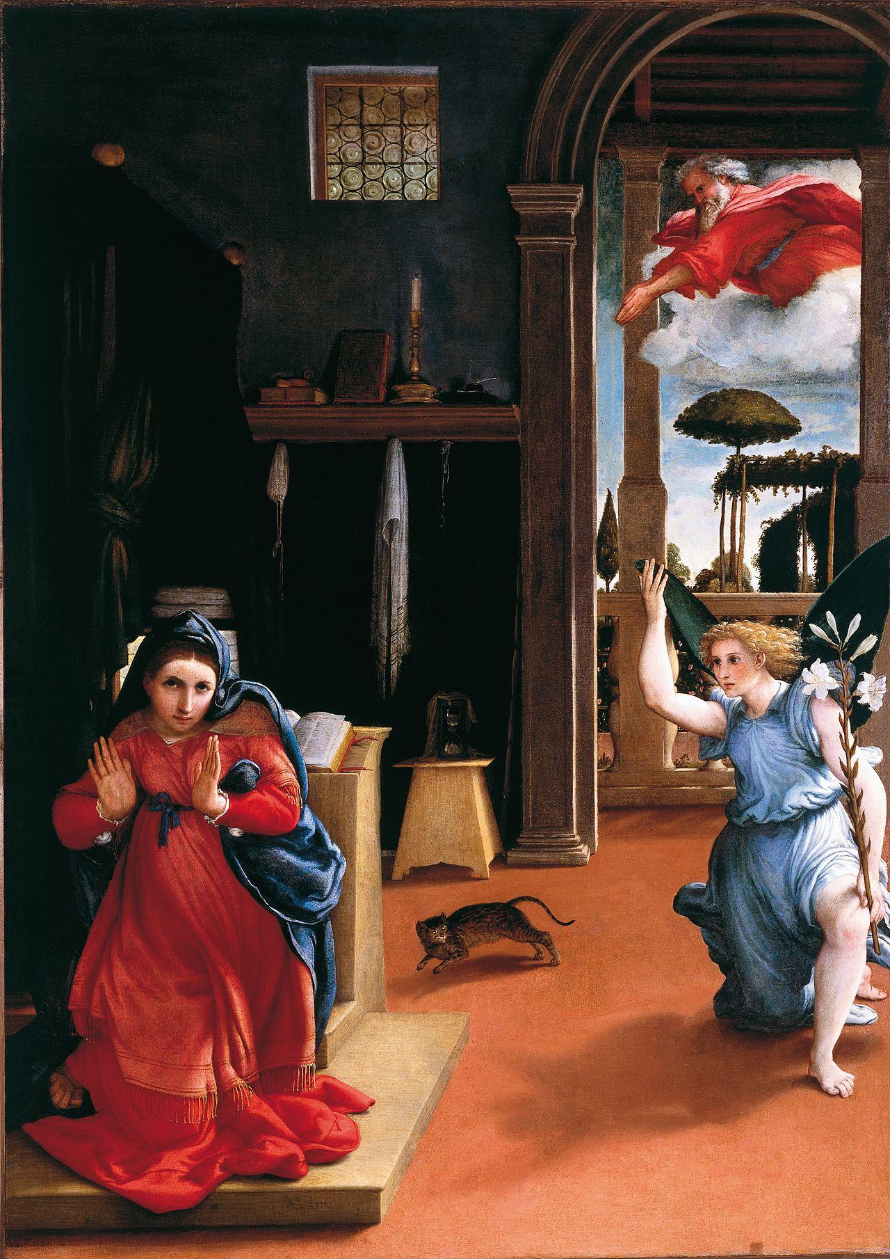 La Anunciación en el Renacimiento (V)