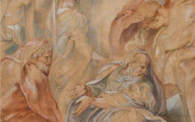 """""""Escritos sobre Rubens"""" de Matías Díaz Padrón"""
