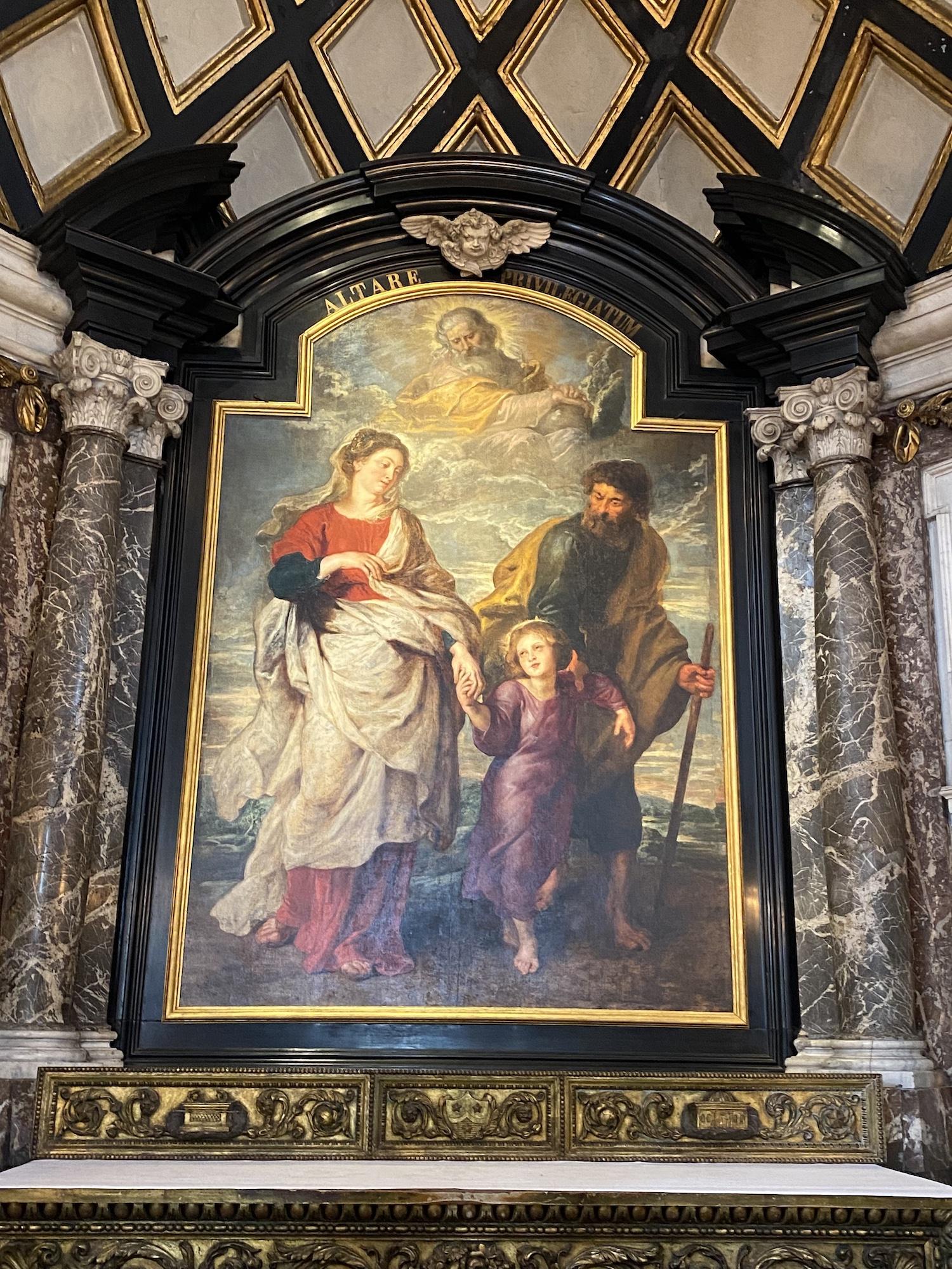 "La vuelta a casa de Rubens: ""El regreso de la Sagrada Familia de Egipto"" a Amberes"